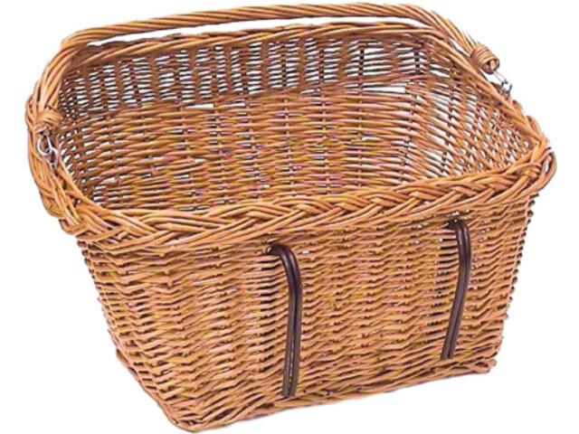 Basil Davos Cykelkurv rektangulære brun (2019) | Bike baskets